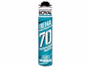 Монтажная пена ROYAL 70 870 мл.